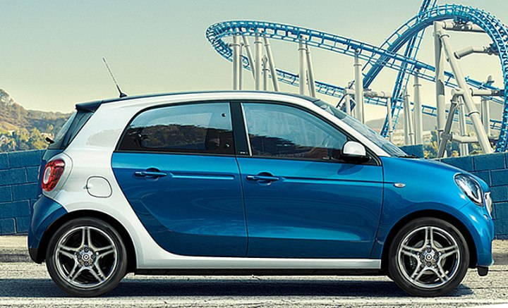 smart forfour lateral