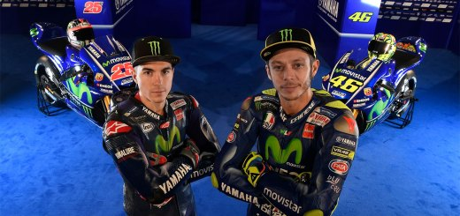 Equipo Yamaha preparado para el MotoGP en Termas de Río Hondo