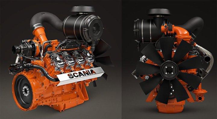 Scania presentará un motor V8 a gas en la exposición Argentina Oil & Gas 2017