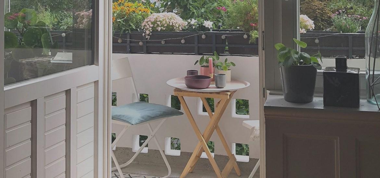 Werbung Klein Aber Fein Ein Weiteres Balkon Making Over 170qm