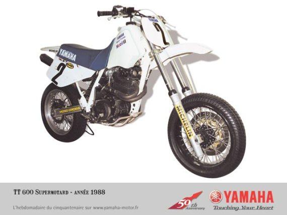 Yamaha TT supermotard