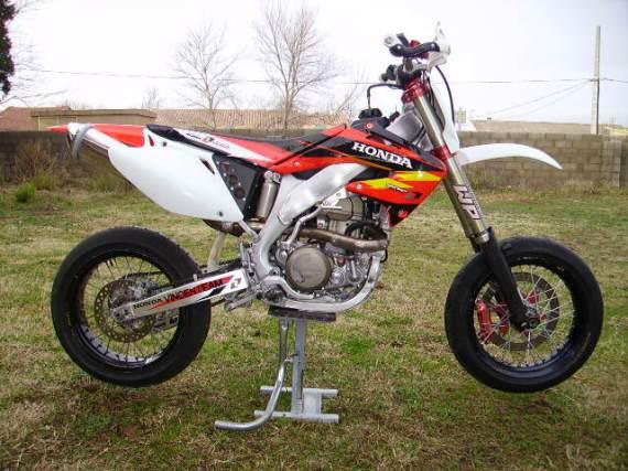 450 CRF course supermotard