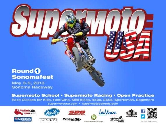 USA round 1 supermoto 2013