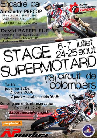 Stage Supermotard