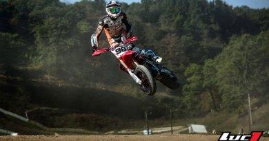 Laurent Fath Honda supermotard