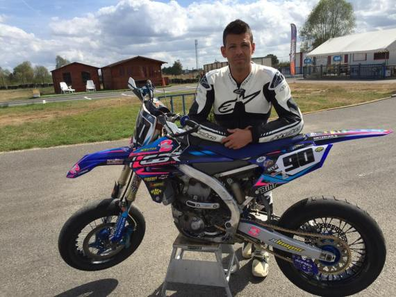 Rodrig THAIN supermotard 2016 course