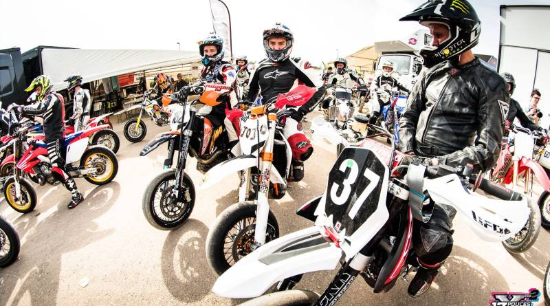 Apprentissage supermotard course