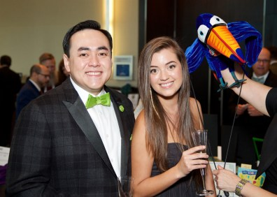 Board Chairman Allen W. Yee with Amanda Walk