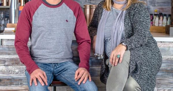 Octavian Stan and Daniela Staiculescu