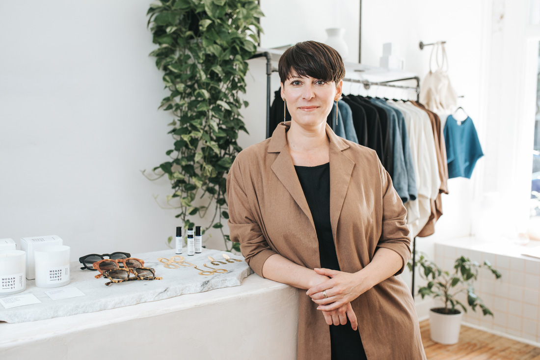 Atlanta-based designer Megan Huntz