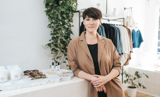 Atlanta-based designer Megan Huntz