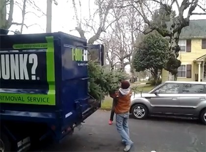 Christmas Tree Removal In Portland