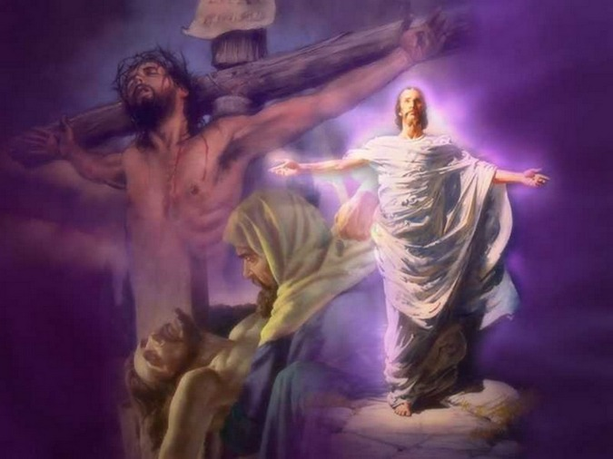 Image result for jesus resurrection returning to body