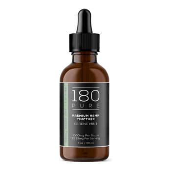 180 Pure Tinctures Mint 1000mg CBD