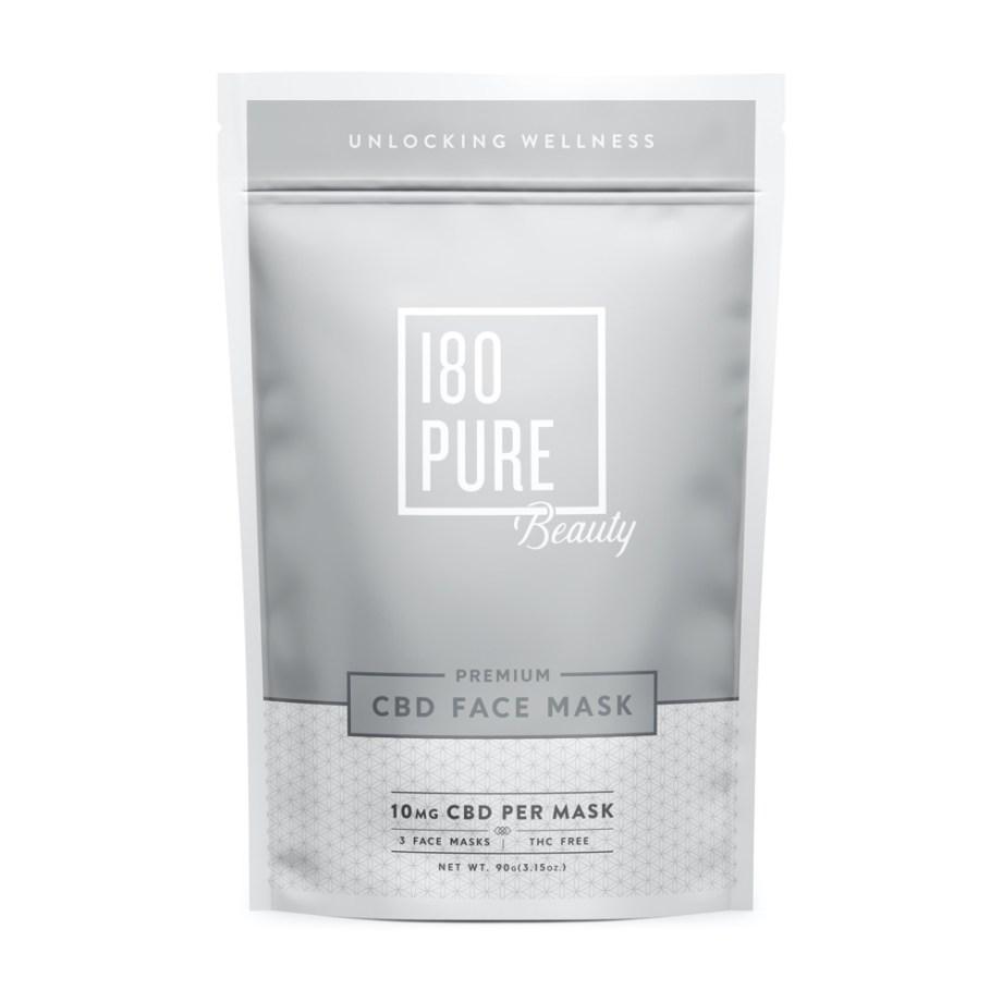180Pure Hemp Premium CBD Face Mask