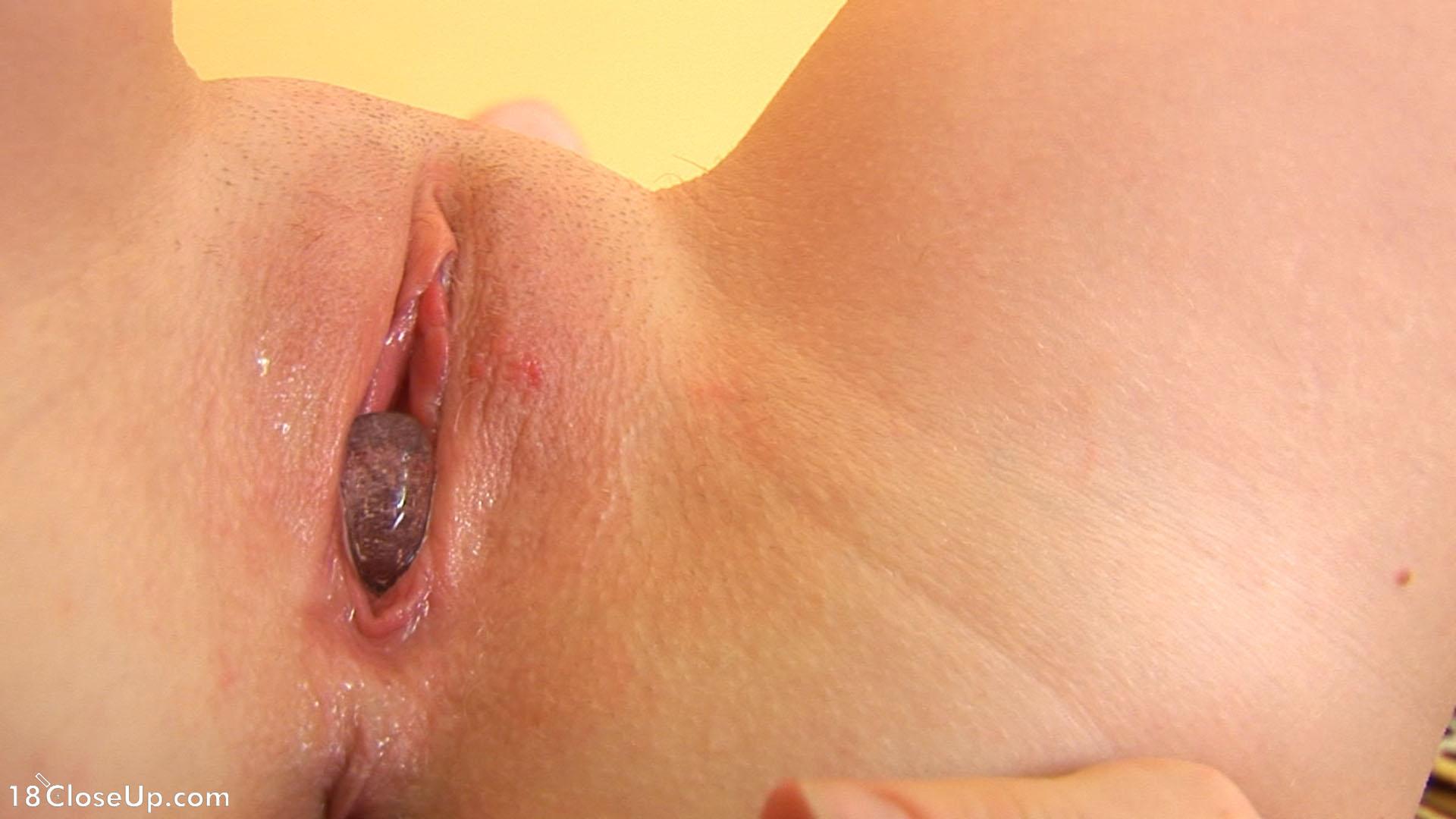 cum inside pussy close up
