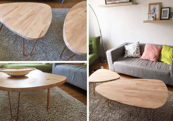 diy tables gigognes au look scandinave