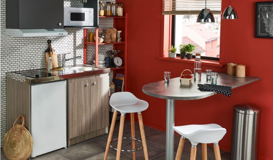 Plans Snack Castorama La Table De Cuisine Pour Toutes Les Envies