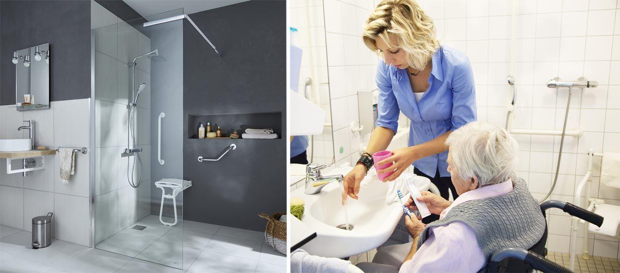 salle de bains pour personne