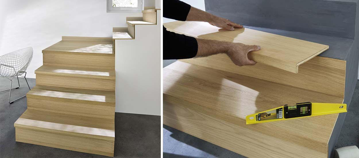 Rnover Un Escalier Des Kits Pour Habiller De Bois Des