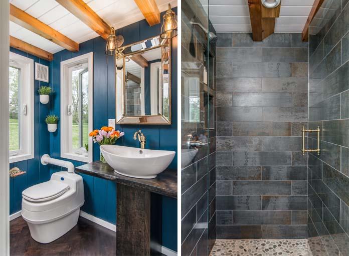 Une Tiny House De Luxe Avec 2 Chambres Et 1 Douche L