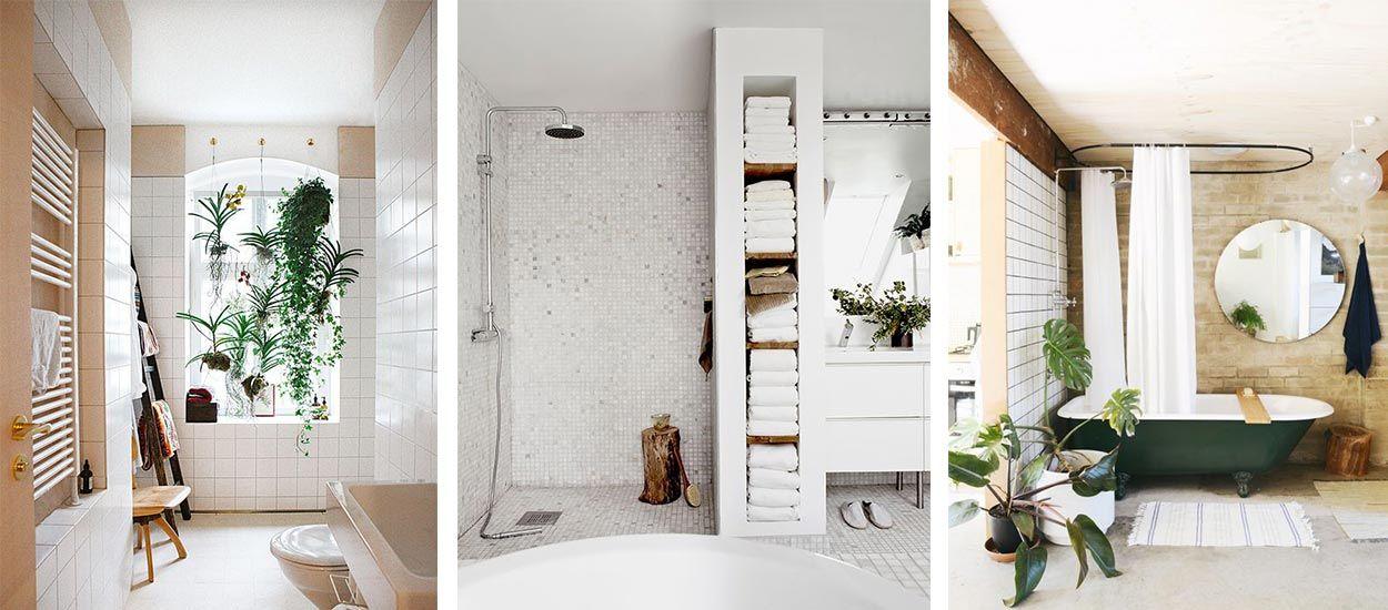 Idees Deco Reperees Sur Pinterest Pour Une Salle De Bain Zen