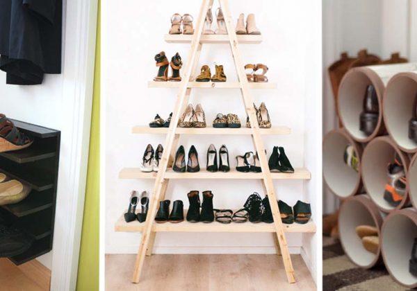fabriquer un rangement pour chaussures