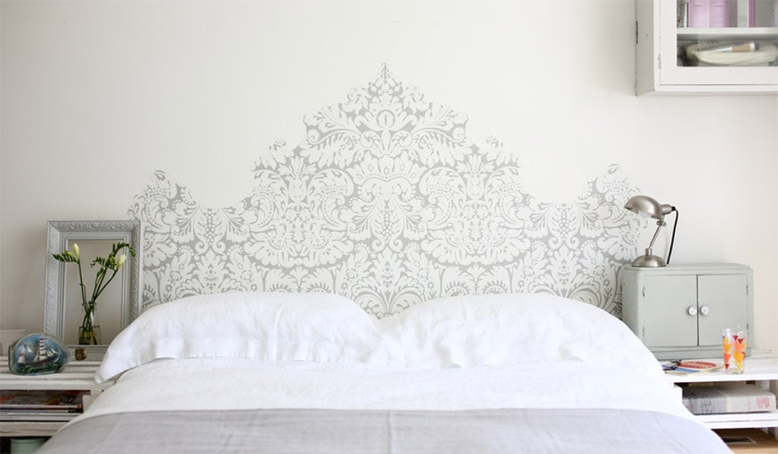 2 une tete de lit en papier peint pour des possibilites infinies