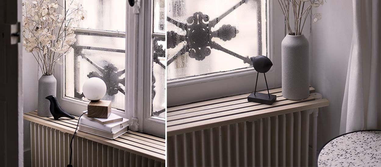 construire une tablette pour radiateur