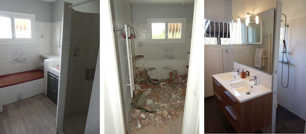 amenager une salle de bains moderne