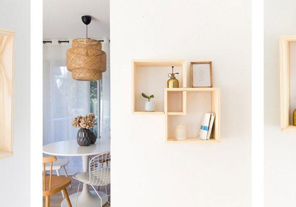 construire une etagere en bois pas