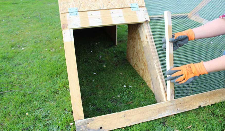 Comment Fabriquer Un Abri De Nuit Pour Les Poules Dans Votre Jardin