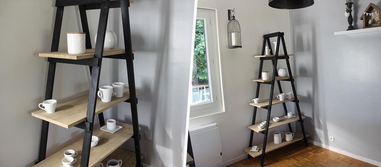 construire une etagere en bois
