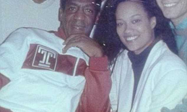 Jewel Allison and Bill Cosby