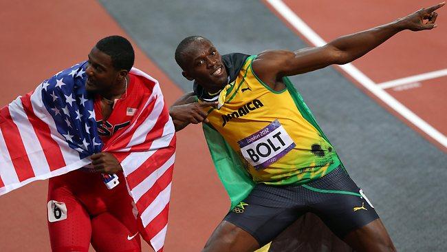 Justin Gatlin & Usain Bolt