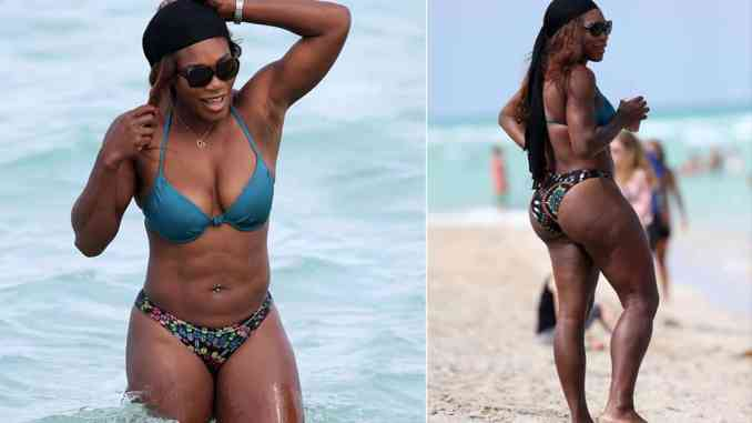 Big butt Serena Williams