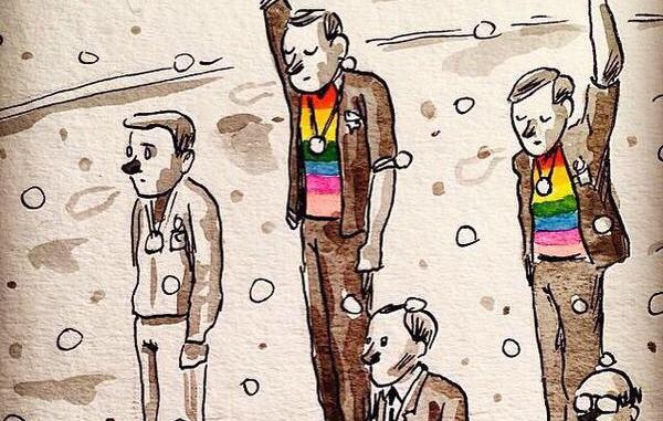 Gay struggle vs. Black struggle