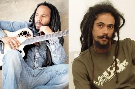 Ziggy and Damian Marley