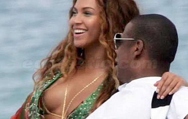 Beyonce and Jay Z had sex in public before