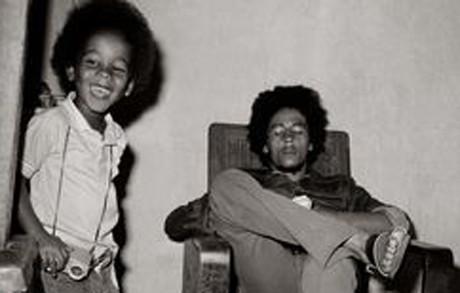 Bob Marley and Ziggy Marley