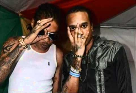 Vybz Kartel and Tommy Lee
