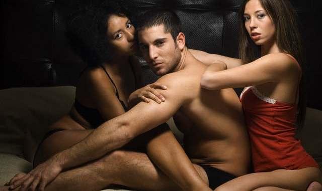 White man and Black woman