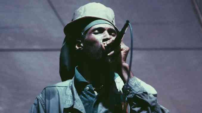 Vaughn Benjamin from Reggae group Midnite