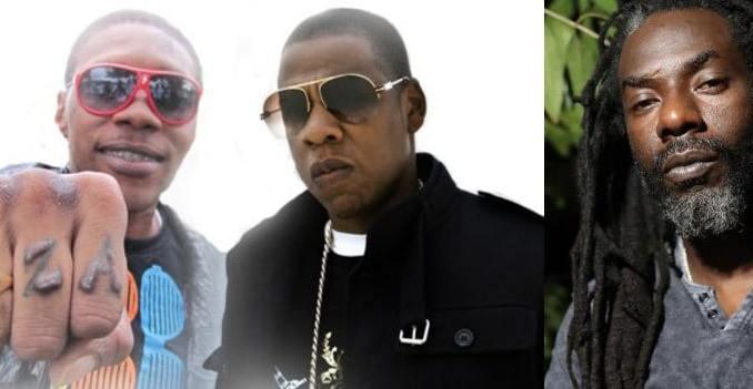 Vybz Kartel, Jay Z and Buju Banton