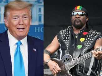 Donald Trump and Toots Hibbert
