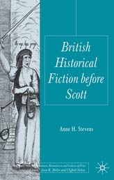 British Historical Fiction Before Scott by Anne H, Stevens