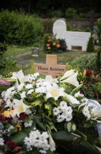 Das Grab von Hans Beimer.