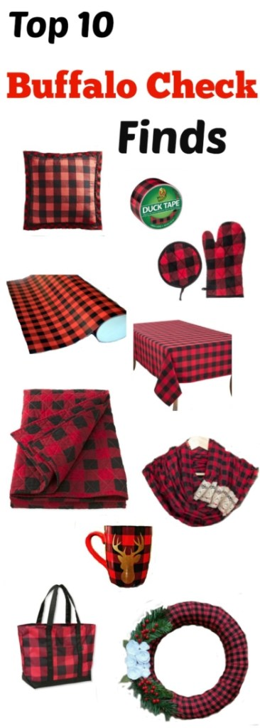 Top 10 list of buffalo check items for your home decor or personal accessories
