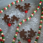 Puzzle Piece Reindeer Ornaments or Magnets
