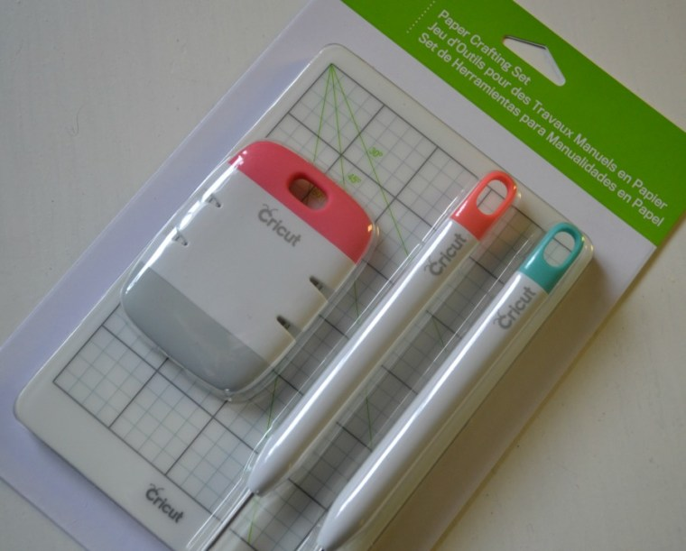 Cricut Paper Crafting Set was included in the Mystery Box